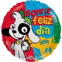 Globo Sonríe Feliz Día