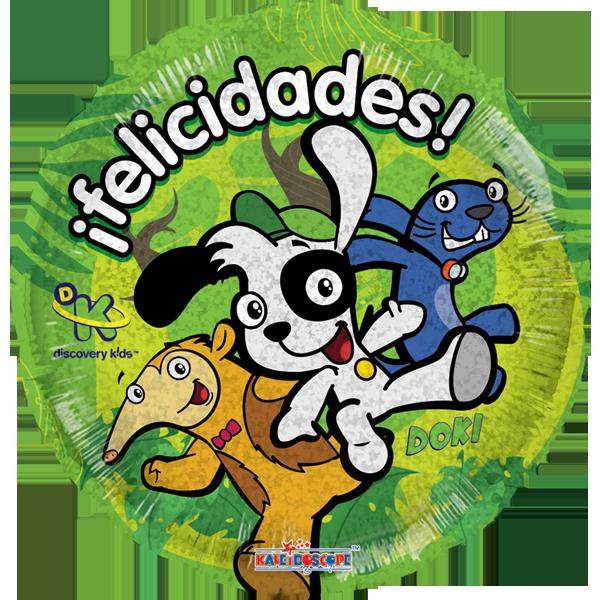 Globo Doki En La Selva Holo