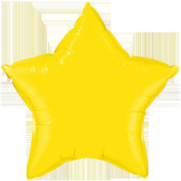 Globo Estrella Amarilla
