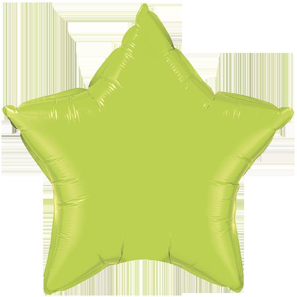 Globo Estrella Verde Limon