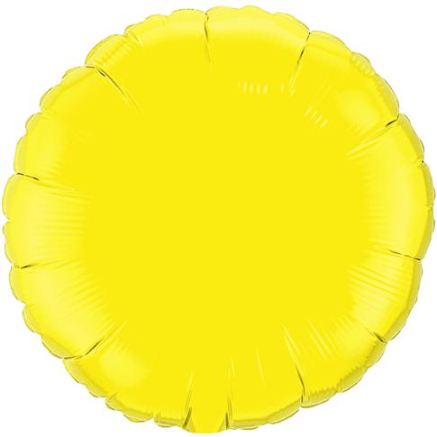 Globo Redondo Amarillo