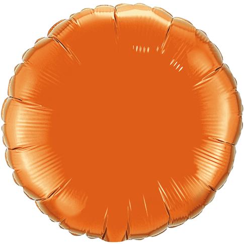 Globo Redondo Naranja