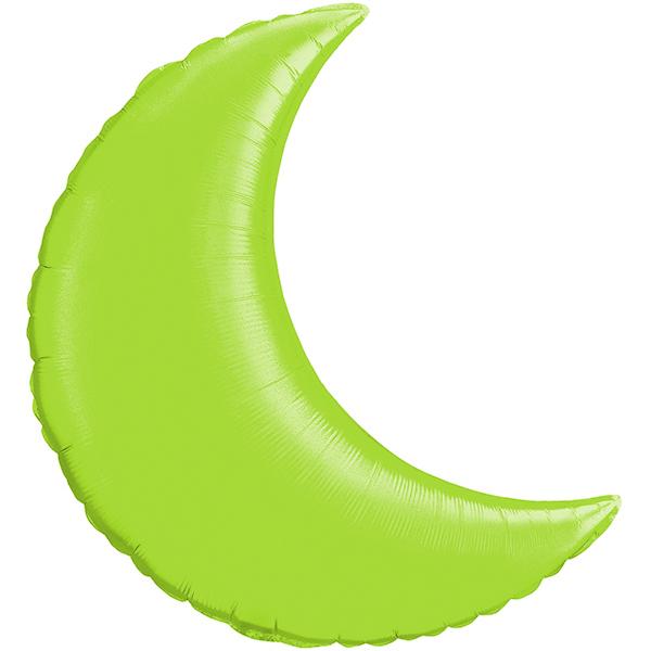Globo Luna Verde Limon Solida