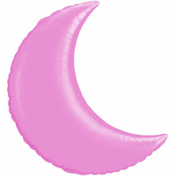 Globo Luna Rosada Solida