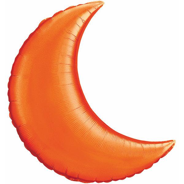 Globo Luna Naranja Solida