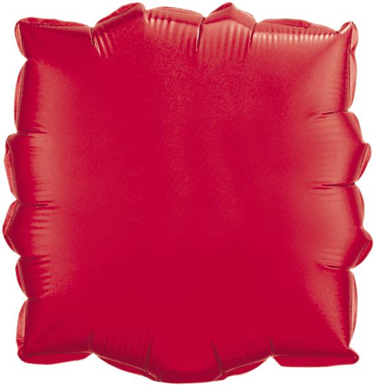 Globo Cuadrado Rojo