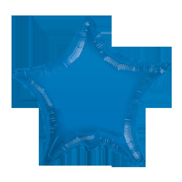 Globo Estrella Azul Radiante