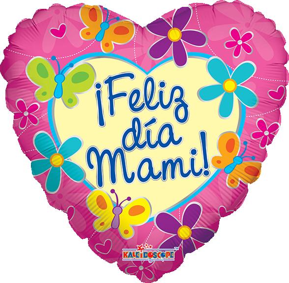 Globo ¡feliz Día Mami!