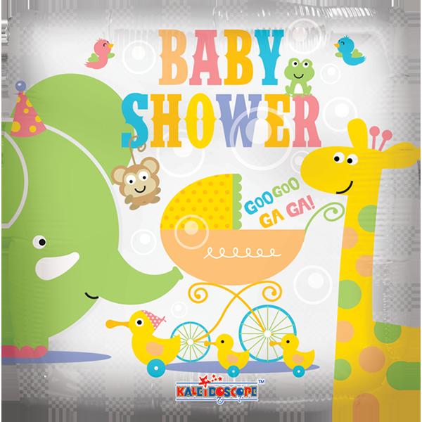 Globo Baby Shower Animal.