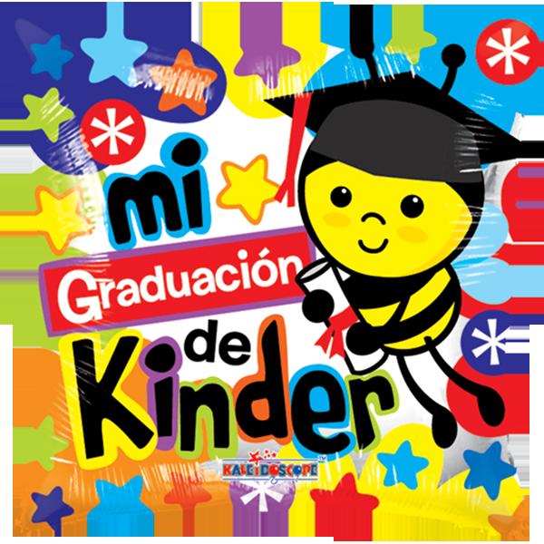 Globo Mi Graduacion De Kinder
