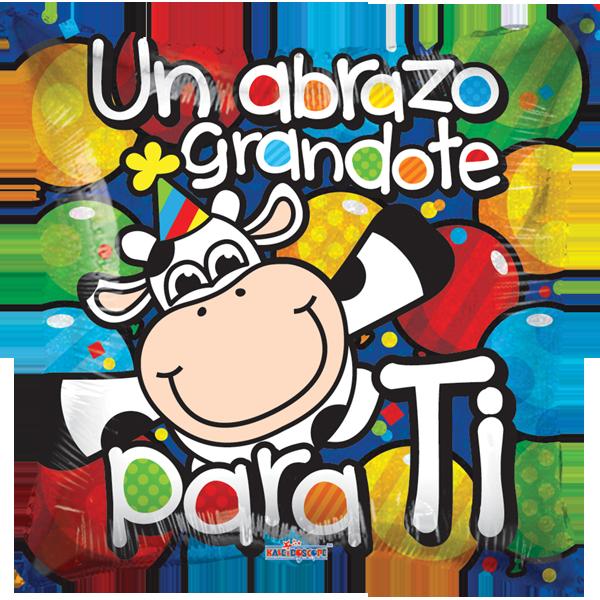 Globo Vaca Felicidades Holog