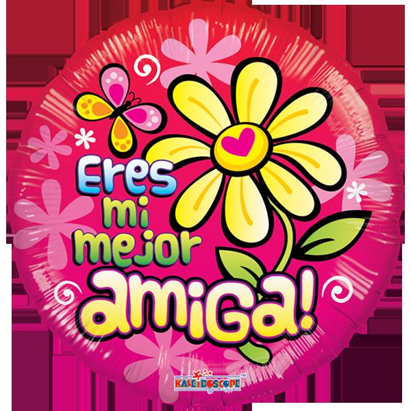 Globo Flor Mejor Amiga