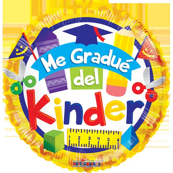 Globo Me Gradue Del Kinder