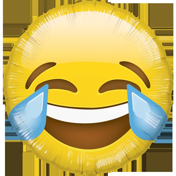 Globo Emoji Carcajada