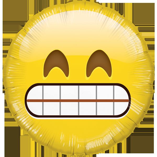 Globo Emoji Dientes Hb