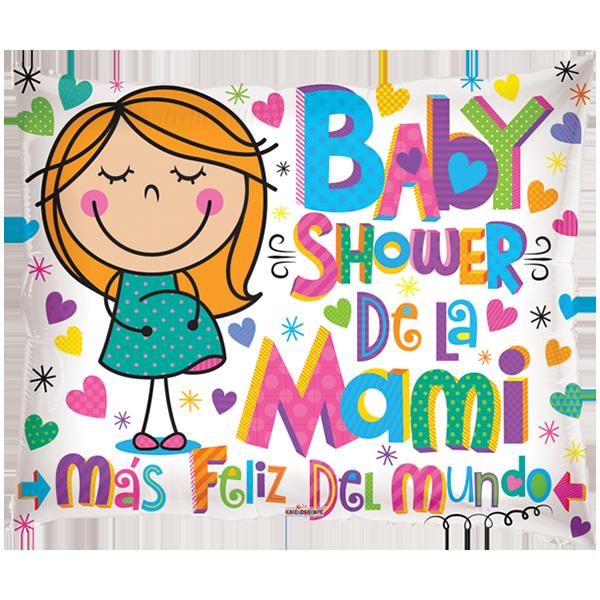 Globo Baby Shower De La Mami Más Feliz Del Mundo