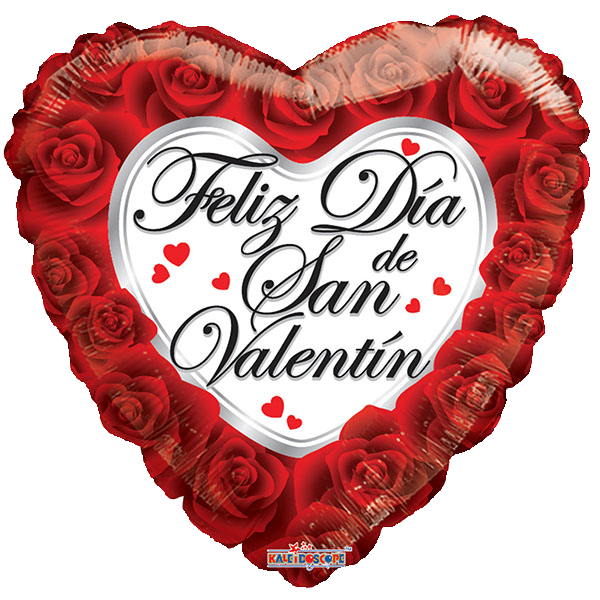 Globo Feliz Dia De San Valentín