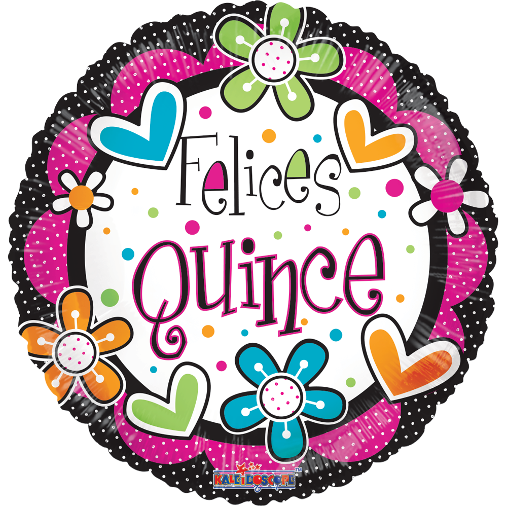 Globo Felices Quince